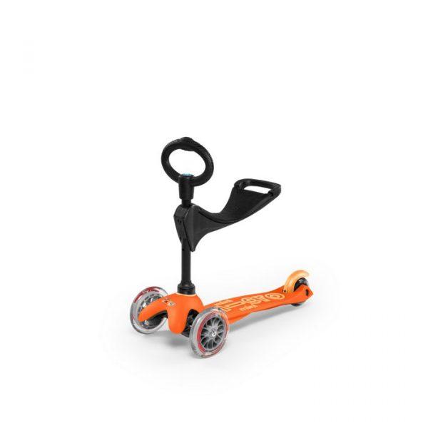 Mini 3u1 deluxe romobil narančasti